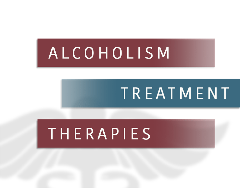 Alcoholism Treatment Therapies