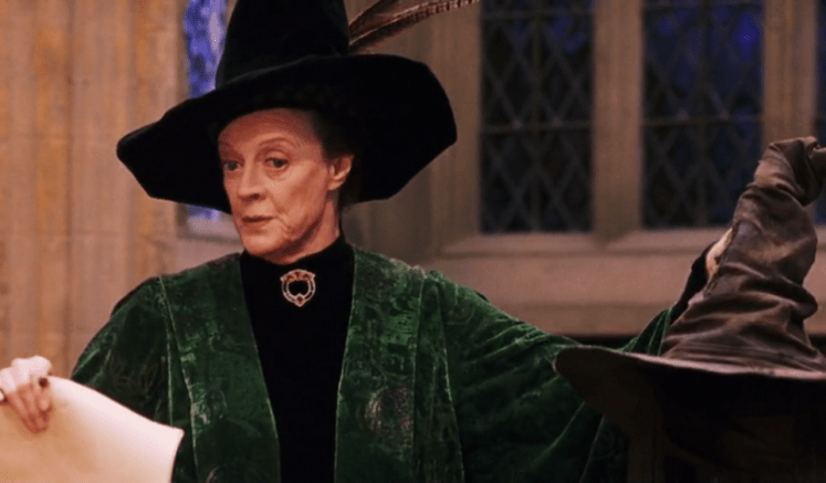 Professor Minerva McGonagall from Harry Potter