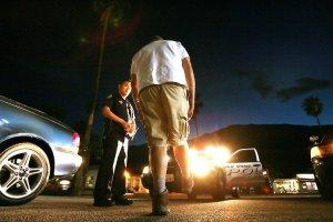 driver roadside sobriety test