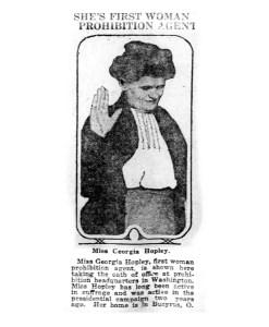 women prohibition agents