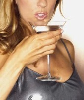 moderate drinkers less obese