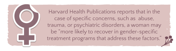 Alcohol Addiction In Women Gender Specific Treatment