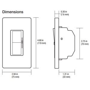 Alcon Lighting 1210066W4 Continuum 66 Series