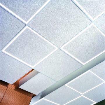 alcon lighting 14029 acoustical tile edge lit grid ceiling linear strip led light fixture