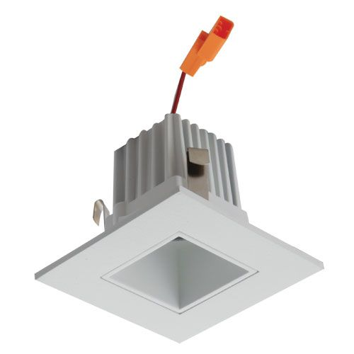 alcon lighting 14034 architectural high performance low profile 2 inch square led recessed light trim and housing 2700k warm white light