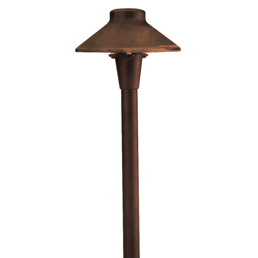 spj lighting forever bright spj jts100 low voltage led outdoor path light matte bronze finish
