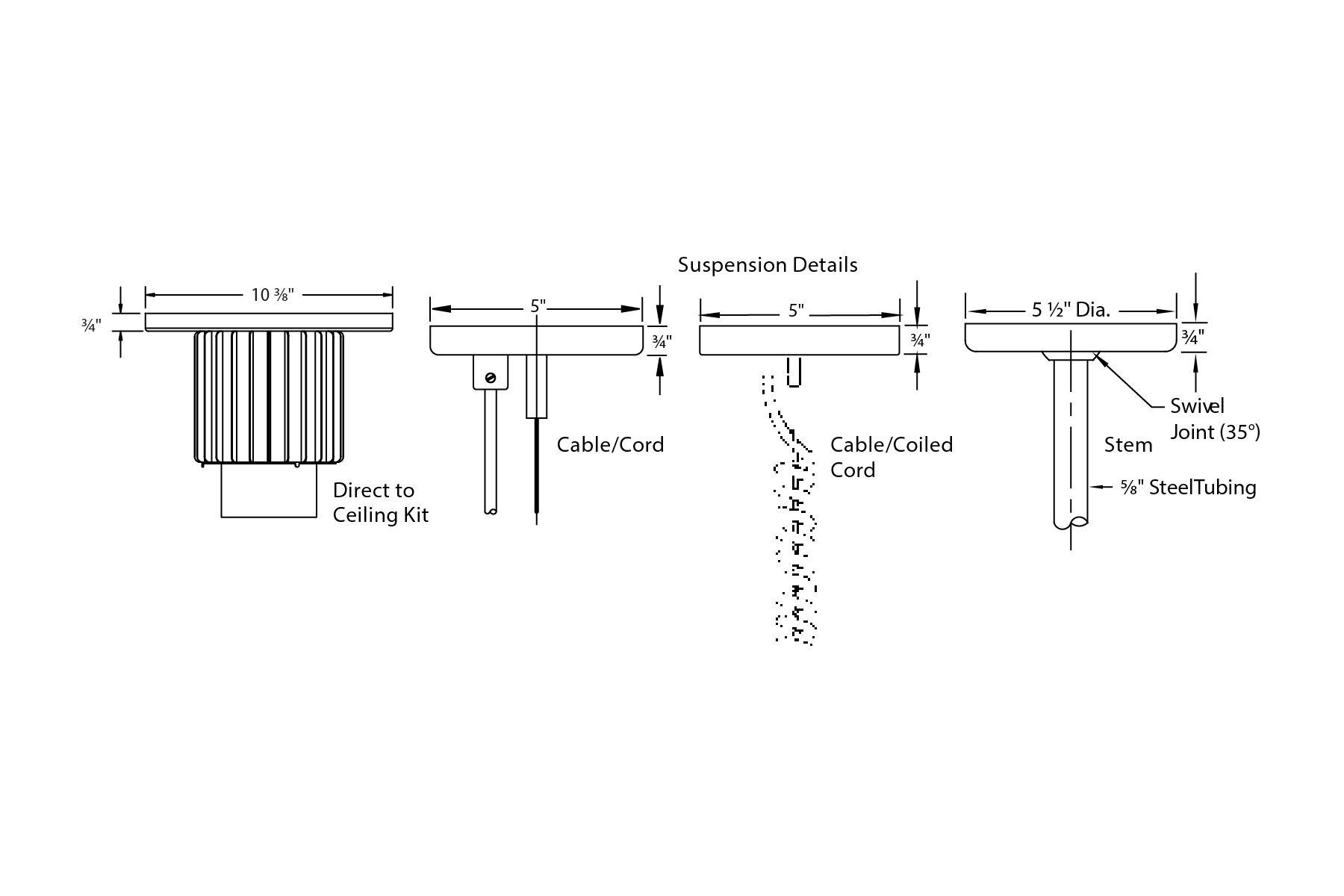 Philips Day Brite Lw27u Pendalyte 12 Inch 30 Watt K Led High Bay Pendant Light Fixture