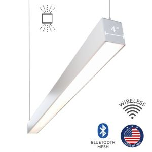 Alcon Lighting 1210045P Continuum 45 Series Architectural LED Linear Pendant Mount Direct