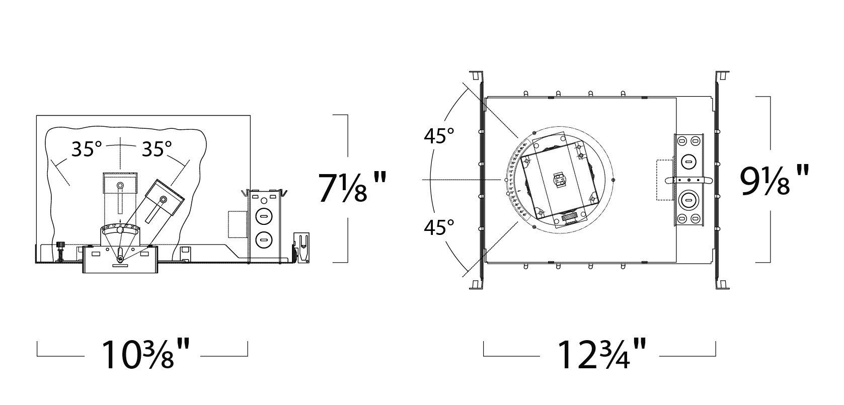 Alcon Lighting 3 Illusione 3 Inch Architectural Led