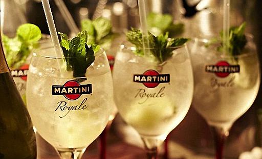 Martini Bianco коктейлі рецепті