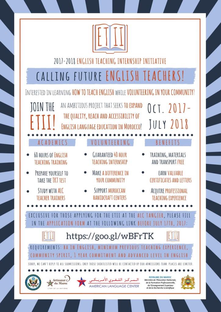 English Teaching Internship Initiative(ETII) - American