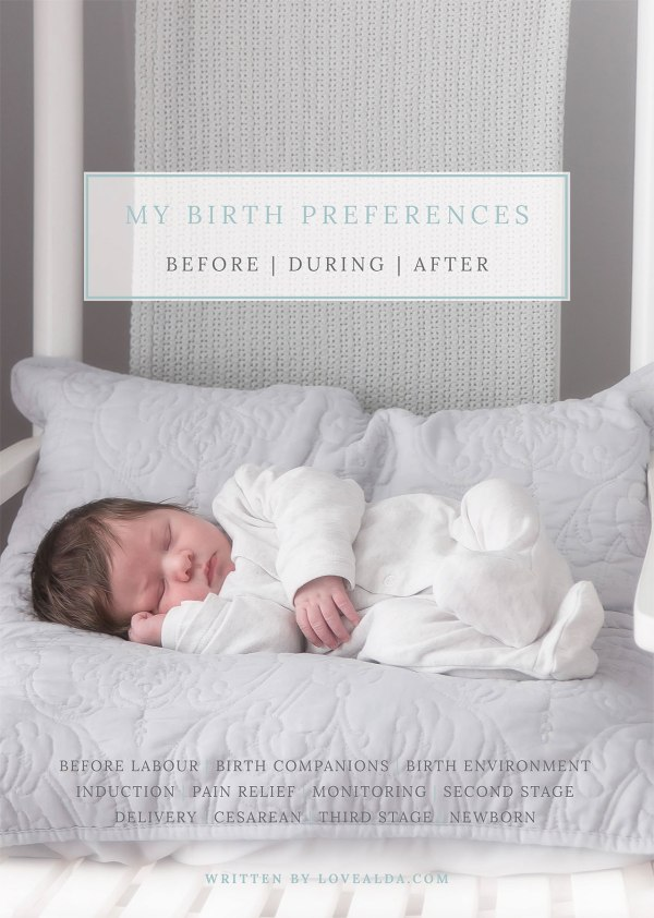 LoveAlda Birth Preferences