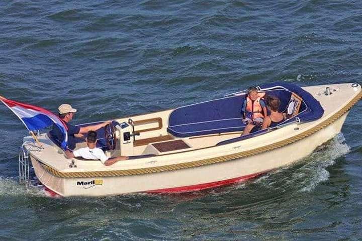 Boot huren van 9.00 tot 21.00 uur