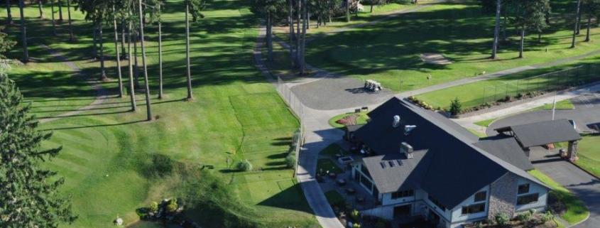 Clubhouse from the air