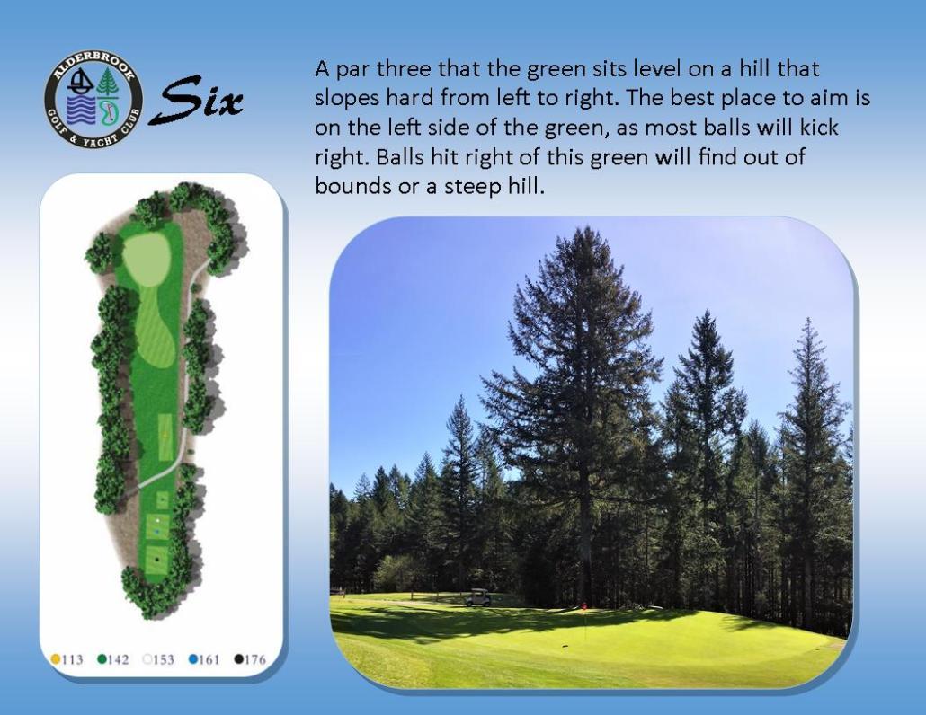 About The Course - Alderbrook Golf Course