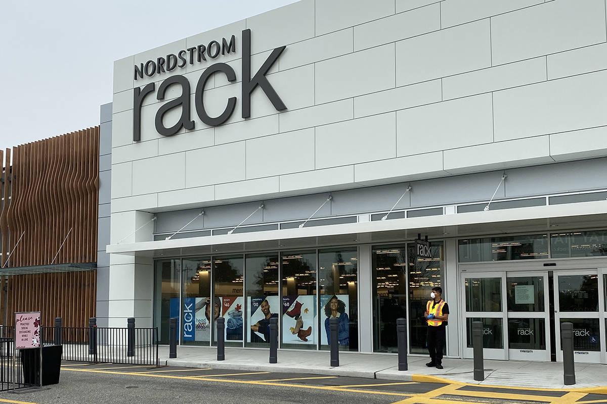 inside nordstrom rack langley