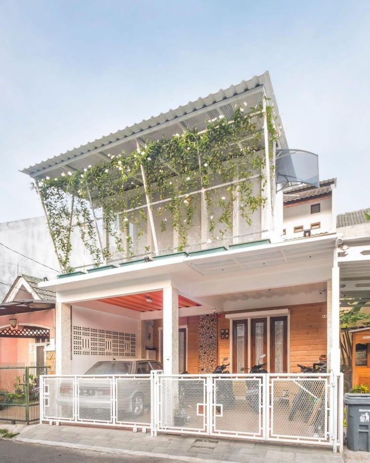 atap kanopi alderon modern minimalis