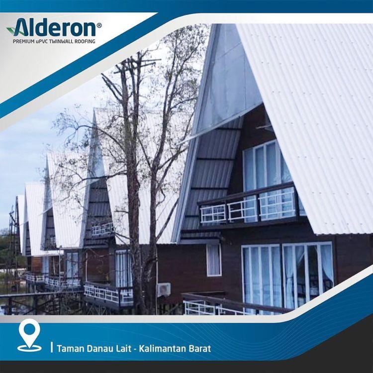 gambar desain model atap rumah alderon sejuk dingin