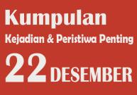 22 Desember Hari Apa? Berikut Peristiwa dan Kejadian di Tanggal Tersebut