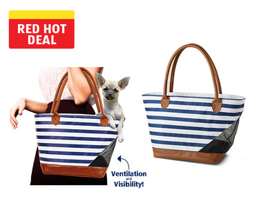 Heart to Tail Pet Carrier Tote View 4