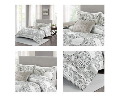 Huntington Home 4-Piece Reversible Bedding Set View 1