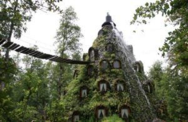 Montaña Mágica Lodge, Huilo Huilo