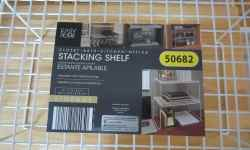 Easy Home Stacking Shelf
