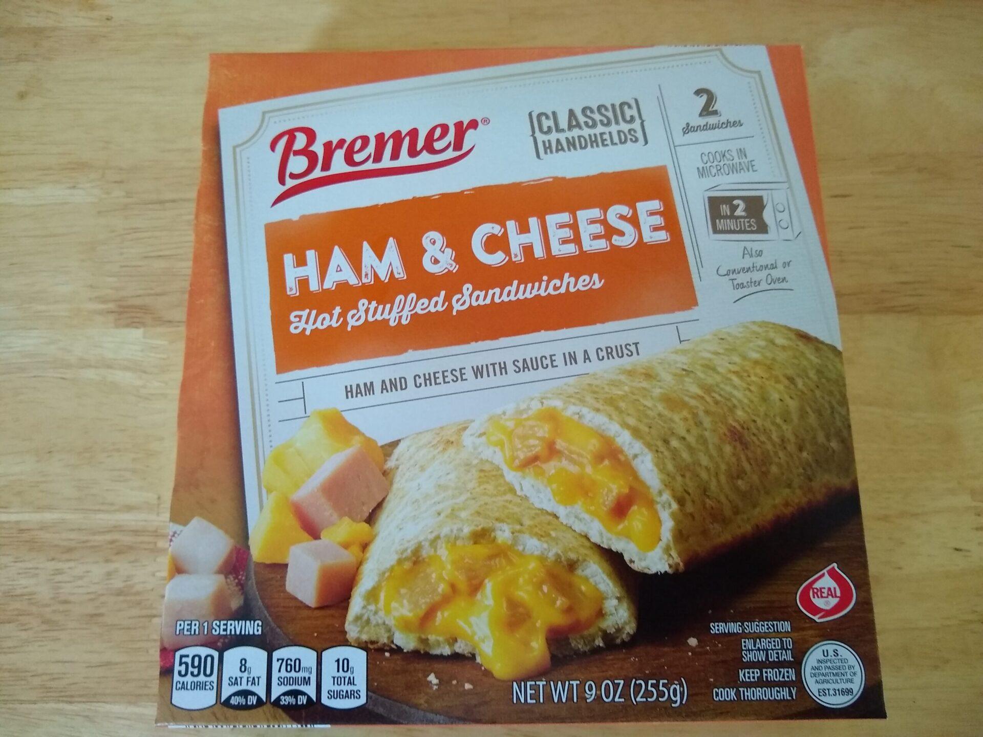 bremer hot stuffed sandwiches aldi