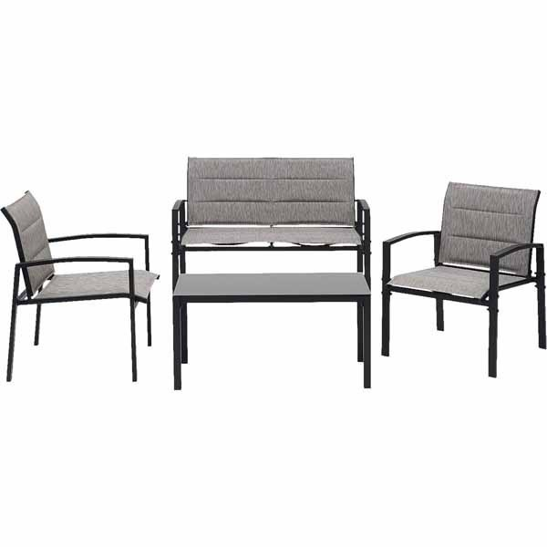 4 piece outdoor furniture set