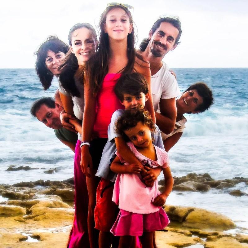 AldoPics Beach family portrait