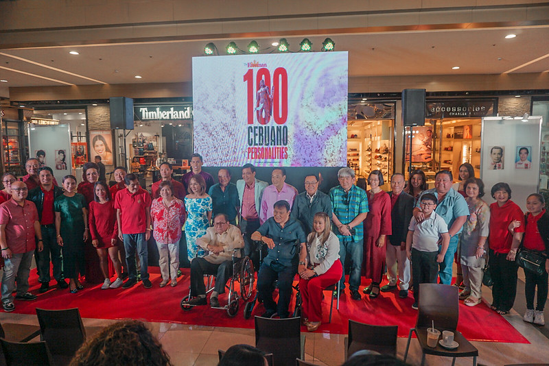 Novuhair Supports The Freeman's 100 Cebuano Personalities Photo Exhibit in SM City Cebu