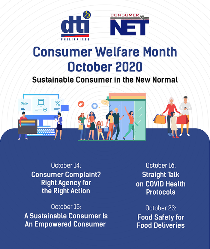 DTI-7 Conducts Webinar Series in Celebration of the Consumer Welfare Month