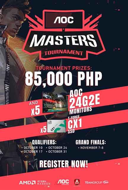 AOC Monitors Launches AOC Masters Tournament for VALORANT