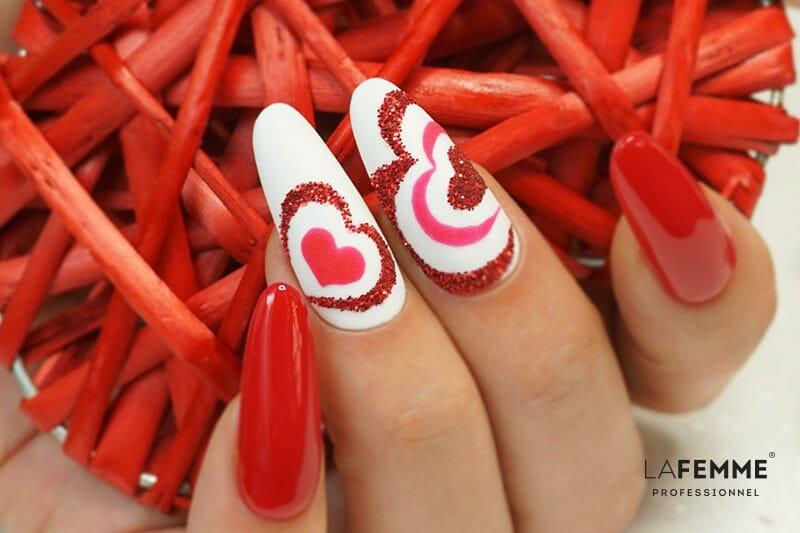 Unghie San Valentino 2020 La Femme Propone Una Dolcissima Nail