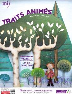 """exposition """"Traits animés"""" au MIJ"""