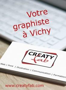 CREATYfab, votre graphiste à Vichy