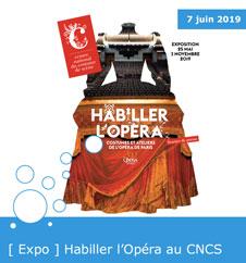 Exposition habiller l'opéra au cncs - 2019