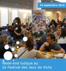 2e Festival des Jeux de Vichy - 2019