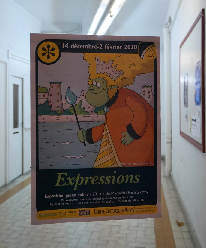 """Exposition """"Expressions"""" à Vichy -2019"""