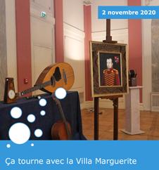 รงa tourne avec la Villa Marguerite