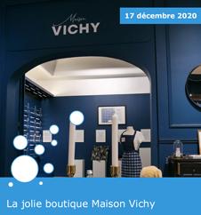 """La boutique éphémère """"Maison Vichy"""""""
