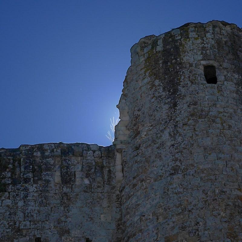 Château de Hérisson dans l'Allier