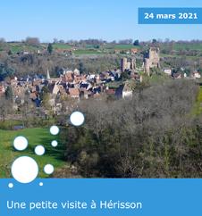 Une petite visite à Hérisson