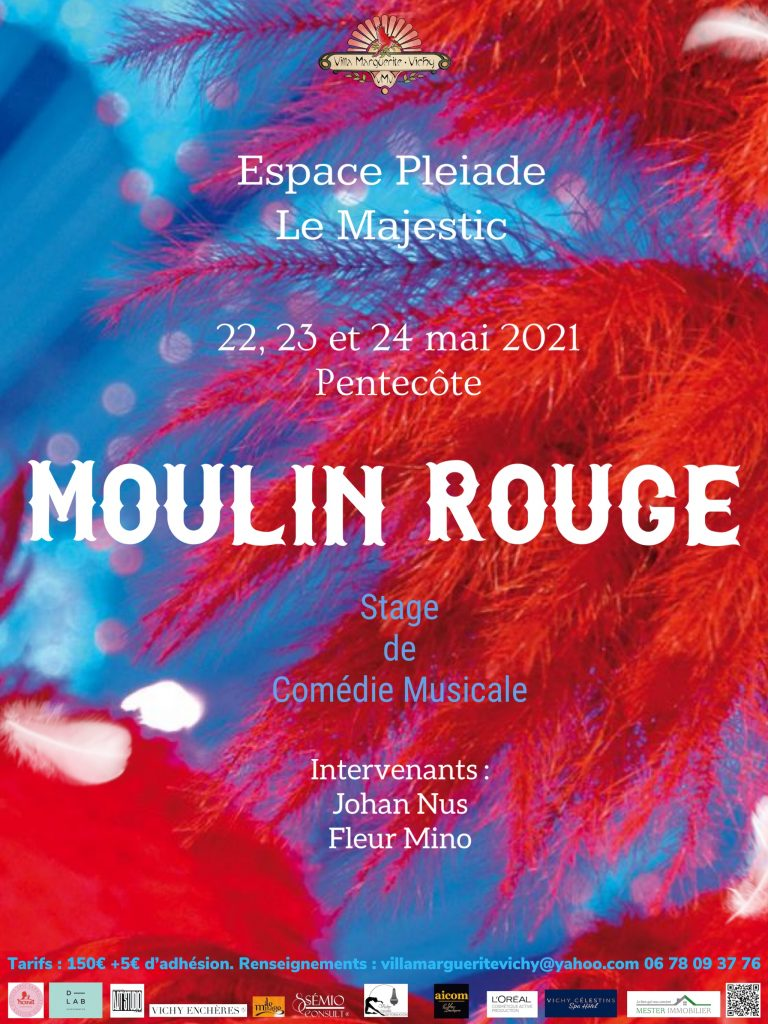 """Stage de Comédie Musicale autour du film """"Moulin Rouge"""""""