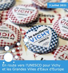 En route vers l'UNESCO pour Vichy et les Grandes Villes d'Eaux d'Europe