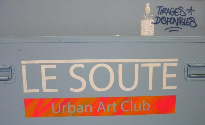 Le Soute - Street Art à Vichy