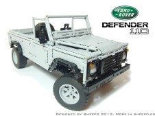 Sheepo Land Rover Defender