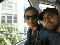on the Monorail