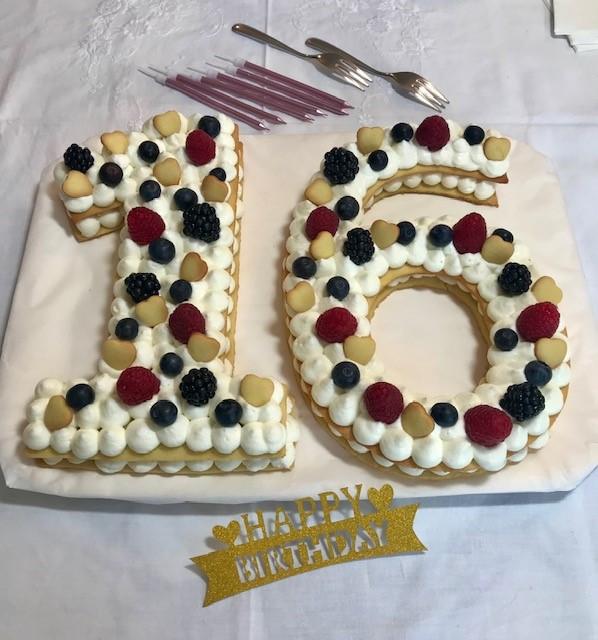 Cream tart numero 16