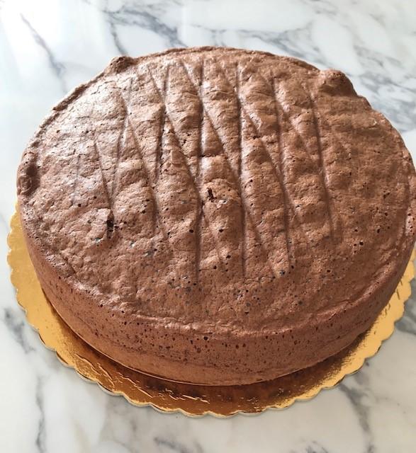 Pan di Spagna al cioccolato gluten free